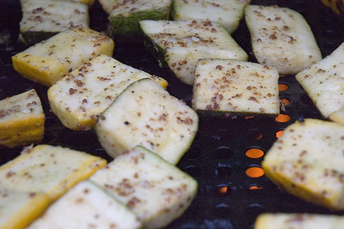 grilling zucchini and summer squash