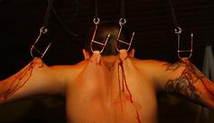 Crucifix (muriloribas) Tags: tattoo blood suspension piercing curitiba bodymodification cricifix muriloribas