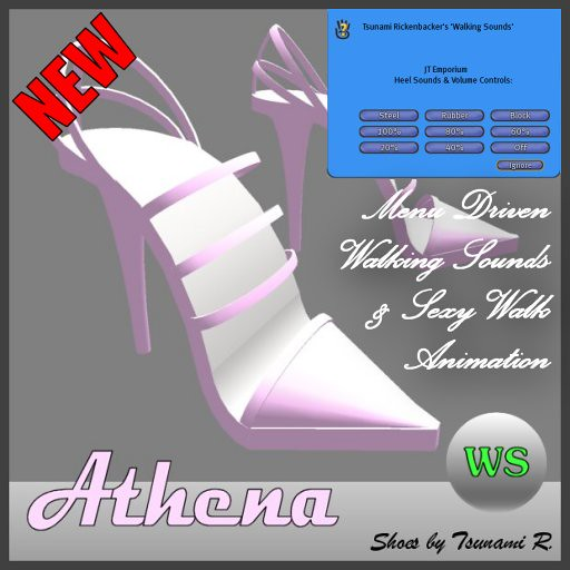 Athena WS Pink Stilettos by Tsunami Rickenbacker