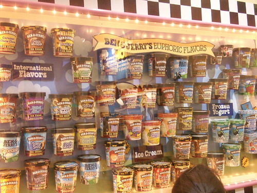 ben and jerry's tour