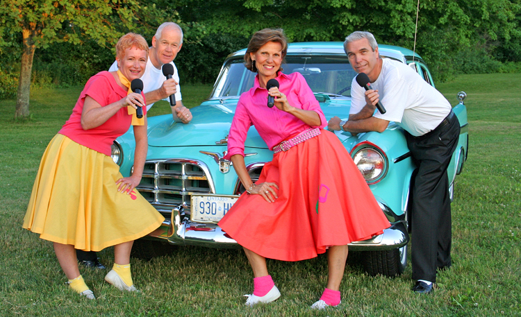 The Satiniques will perform at the Star Dust dinner theatre opening in Parkhill