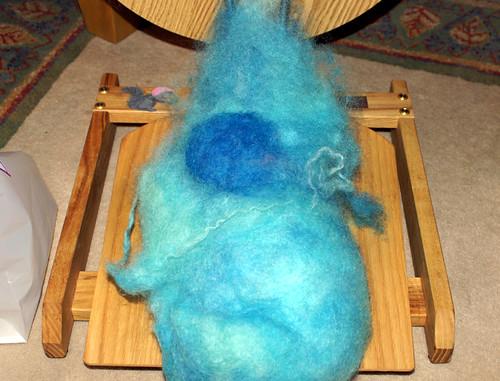 blue fluff variation