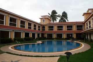 Pool at Casa de Goa
