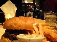 Steak Sandwich at Tuckshop
