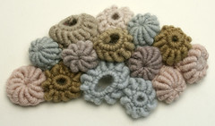 Barnacles (gooseflesh) Tags: sculpture art coral garden crochet craft