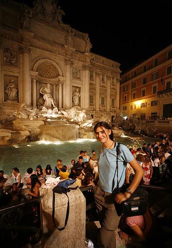 rome-fontana di trevi