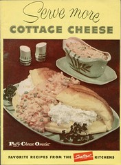 Serve More Cottage Cheese (Cowtools) Tags: vintage cookbook ephemera booklet recipes dairy cottagecheese sealtest