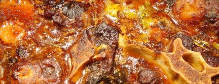 Ochsenschwanzravioli Fleisch