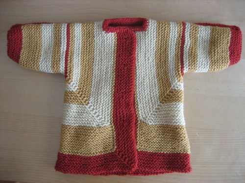 Baby Surprise Jacket, front