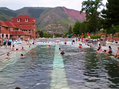 from Lake Powell to Glenwood Springs 219 (no body atoll) Tags: pictures trip travel summer vacation holiday hot pool landscape photo colorado downtown photos pics visit glenwood springs sulphur