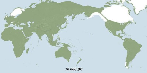 10 000 BC World map  a photo on Flickriver
