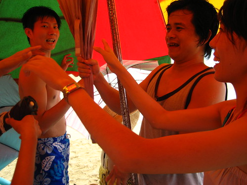 Party Under the Umbrella