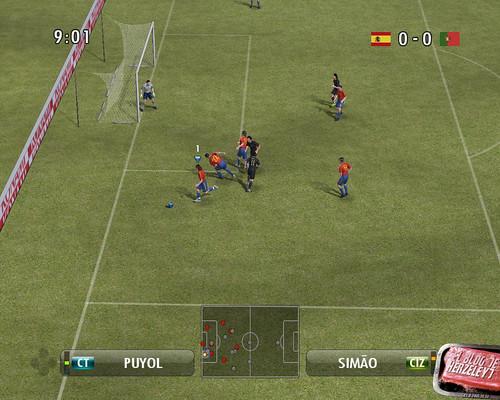 Juego Pro evolution Soccer 2008
