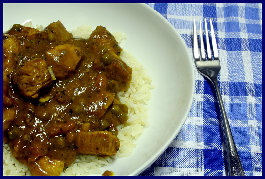 Home-made Chicken Curry