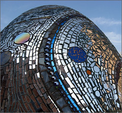 Mirrored egg--Visionary Art Museum