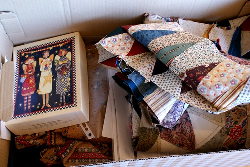 quilt in box