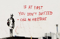 banksy - 'if at first you don't succeed - call...