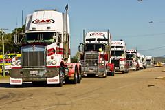 Convoy for Kids 2010-040 (Lenny Turner) Tags: kids truck sony australia queensland trucks alpha convoy townsville 2010 kenworth a700 primemover sal70400g
