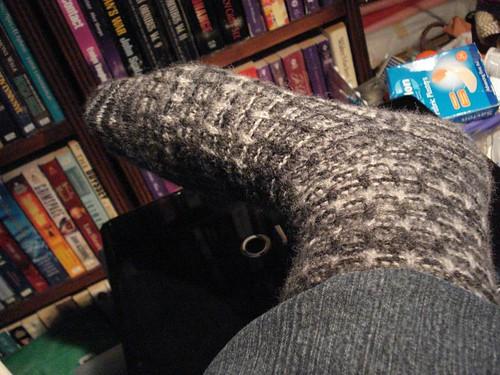 Shrunken sock