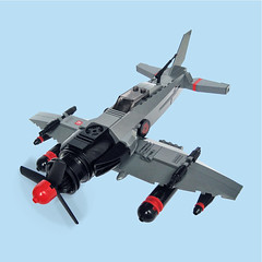 Hagesh Zero - Sky Fighter (Fredoichi) Tags: fighter lego space shooter shootemup skyfi shmup skyfighter fredoichi