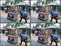 Lfabaic2010p_0320 (qpkarl) Tags: art facepainting stereoscopic stereogram stereophotography 3d orlando unitedstates florida stereo publicart stereograph bodyart stereography stereoscope stereoscopy stereographic canonpowershota460 fabaic fabaic2010