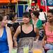 Erin Gardner, Christine Umali and Oshoveli Munashimue