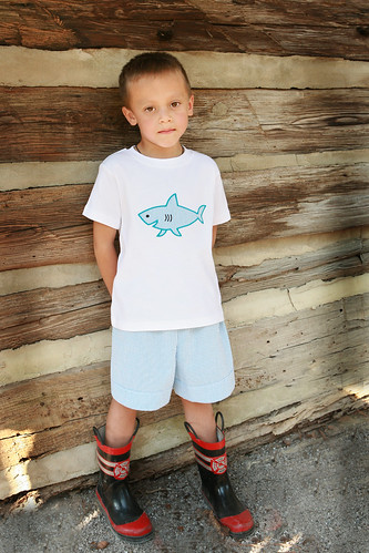 Shark Tee & Short Set