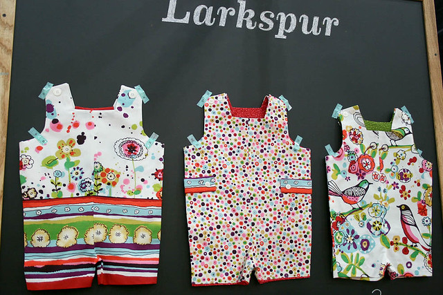 Alexander Henry - Larkspur Booth Display