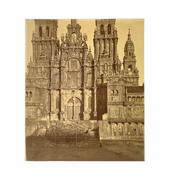 West facade of Cathederal of Santiago de Compostela, Charles Thurston-Thompson. Museum no. 62:598
