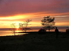 BorderSunSet (fight4rave) Tags: sunset nomansland italysloveniaborder lifetravel