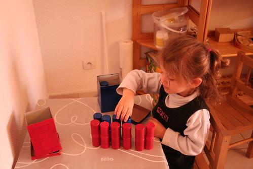 Montessori en famille, vie sensorielle