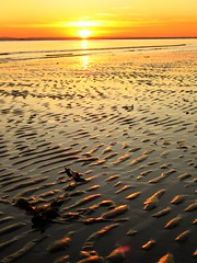 Sun and Sand (khanrizzi) Tags: sunset beach sand hayling ripples
