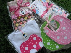 polka dotted order (Messaround) Tags: bike sewing polkadots bibs messaround beachcruiser