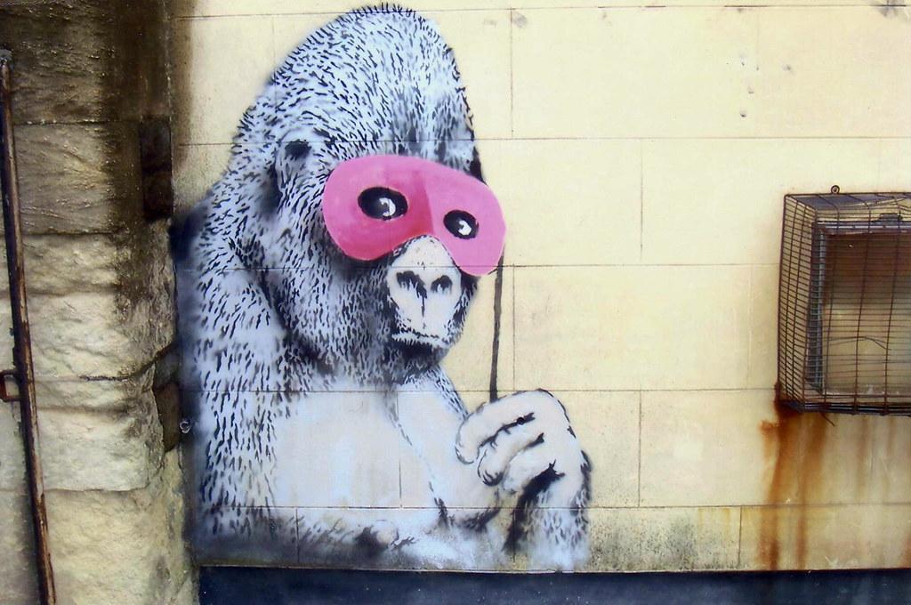 Bansky Gorilla.