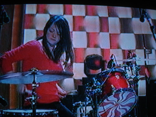 the white stripes on conan o'brien