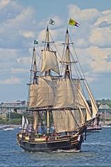 Friendship of Salem, Newport, RI - by G.E. Long