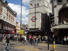Picture of Leicester Square Station