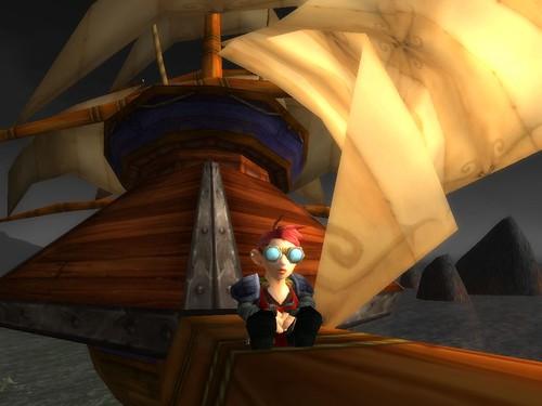 Spennix takes ship