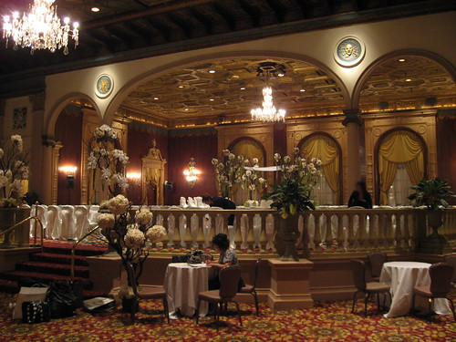 Formerly the main dining room, now the Emerald Room:
