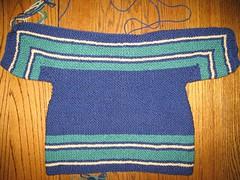 EZ Sweater Back