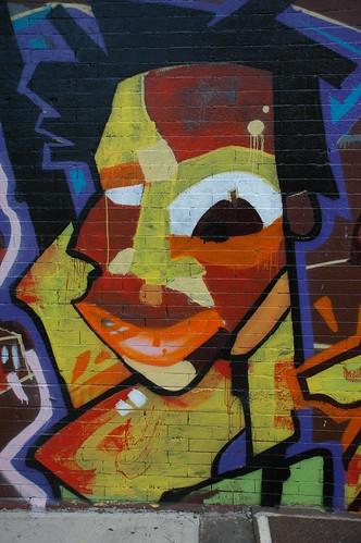 Detail, Wall Painting, Le Toukouleur
