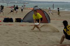 Le.Tournoi.Bournemouth.1338 (goodjon) Tags: sea beach sand ultimate tournament frisbee bournemouth sandbanks poole chine branksome letournoi