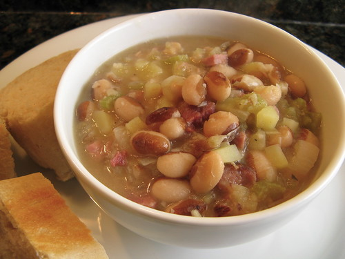 ah ham bean soup perfection this soup is pretty much