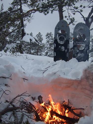 fire tubbsventure snowshoes orkdal norway winter vinter sooc