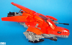 Blood Blade Starfighter (AlterEvo) Tags: red army lego space armada evo roja moc starfighter