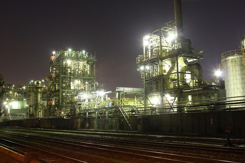 Keihin Industrial Region walk