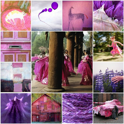 Serendipity in purple and pink