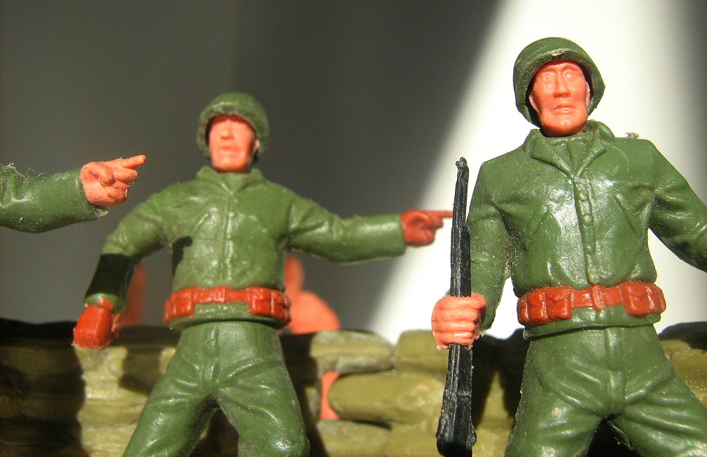 Timpo Toys: WW II American GIs - 4 of 5