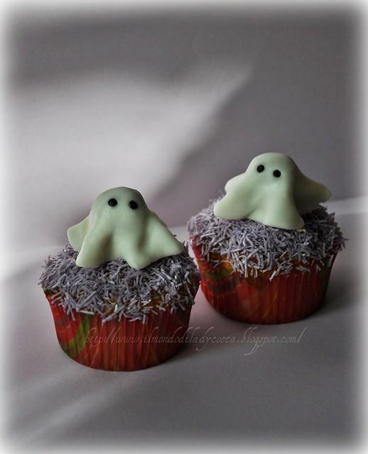 Cupcake per Halloween...Fantasmini