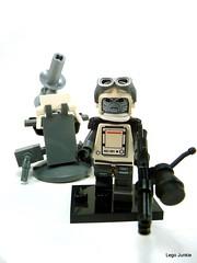 Taboshain Infantryman. (Lego Junkie.) Tags: army mixed war lego arts aliens doomsday martail